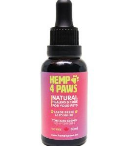 Hemp Oil Large Breed