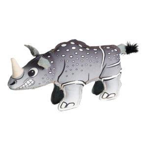 Critterz Canvas Rhino