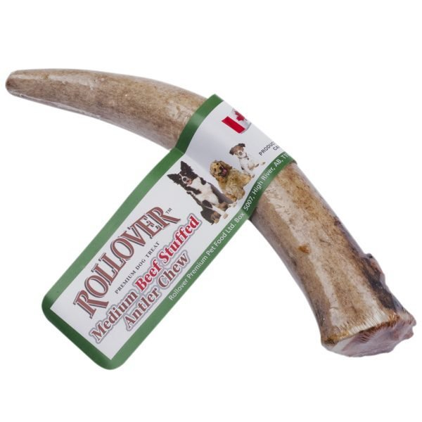 Beef Stuffed Antler Chew